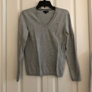 Tommy Hilfiger long sleeve gray size S